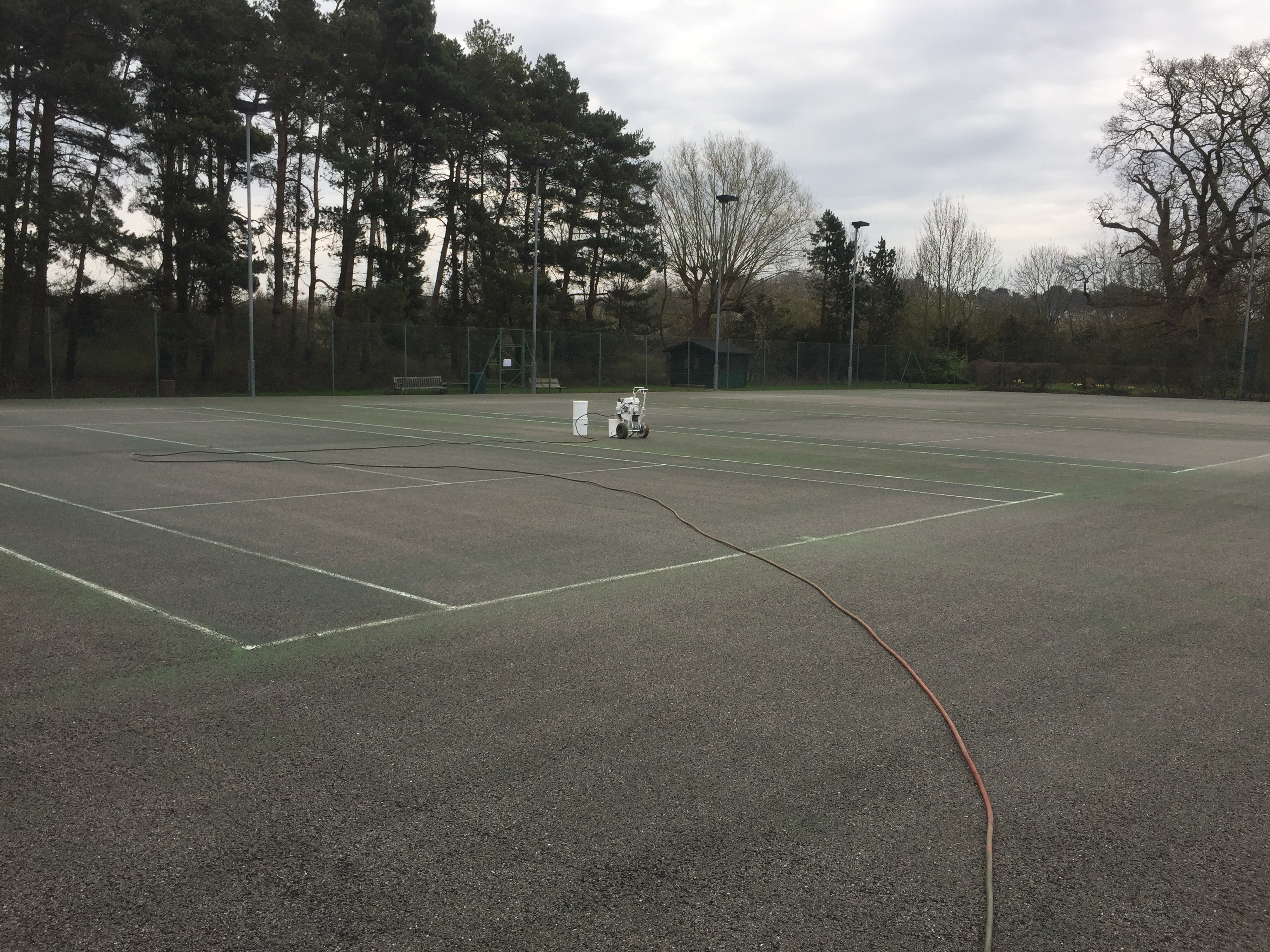 MK Tennis Before