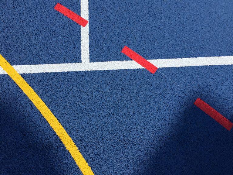 MUGA Line Marking