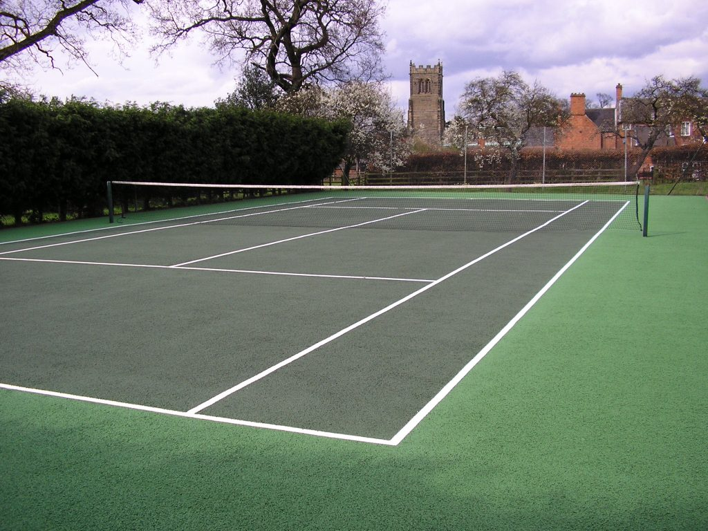 Tennis Court Rejuvenation